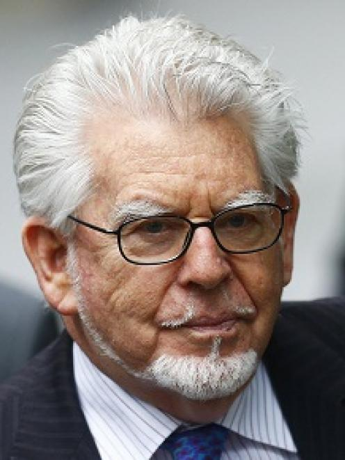Rolf Harris arrives at Southwark Crown Court in London. REUTERS/Andrew Winning