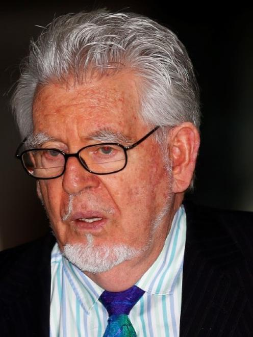 Rolf Harris leaves Southwark Crown Court in London.  REUTERS/Andrew Winning