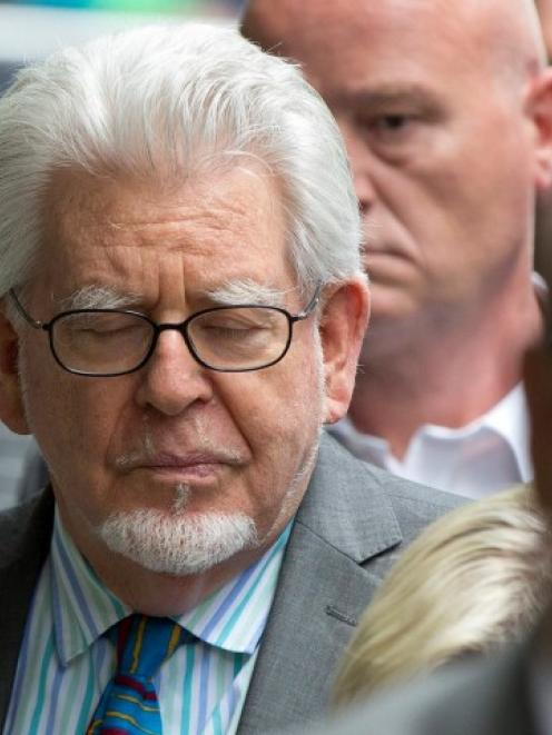 Rolf Harris leaves Southwark Crown Court in London after being found guilty. REUTERS/Neil Hall