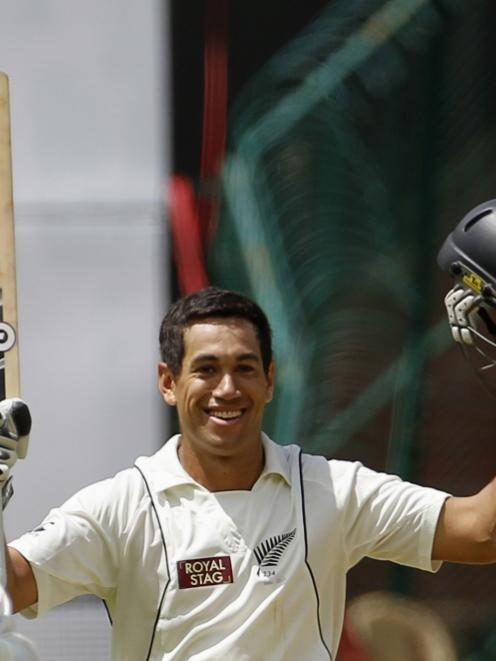 Ross Taylor. Photo by Reuters