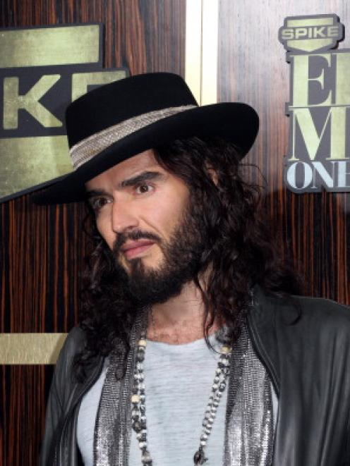 Russell Brand. (Photo by Frederick M. Brown/Getty Images)