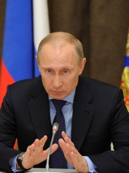 Russian President Vladimir Putin. Photo Reuters