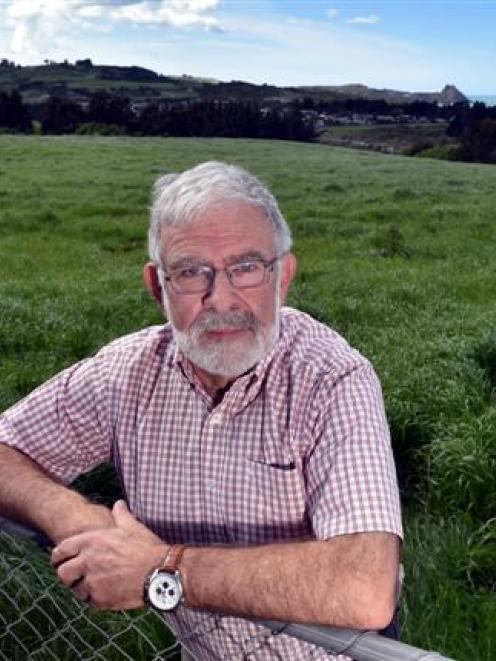 Saddle Hill property owner Tony Devereux wants the city's rural landowners to understand the 2GP....