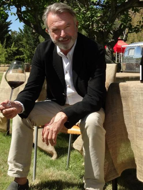Sam Neill will open a new pop-up cellar  today at Bannockburn, focused on a restored Airstream...
