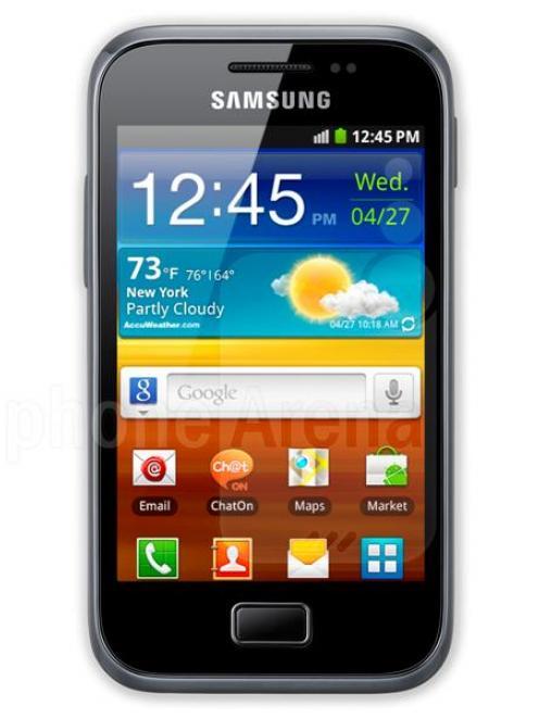 Samsung Galaxy Plus.