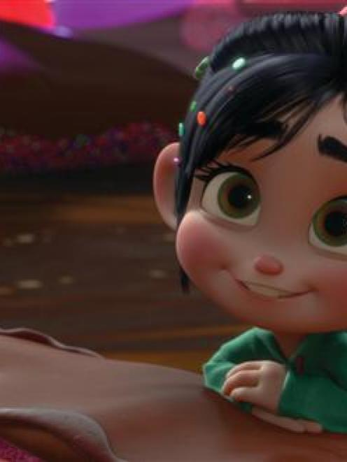 Sarah Silverman voices Vanellope Von Schweetz in Disney's <i>Wreck-It Ralph</i>. Photo from Disney.