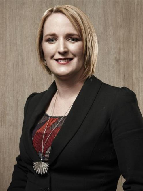Sarah Simmers has been selected as one of New Zealand's top 38 ''trail-blazing'' lawyers. Photo...