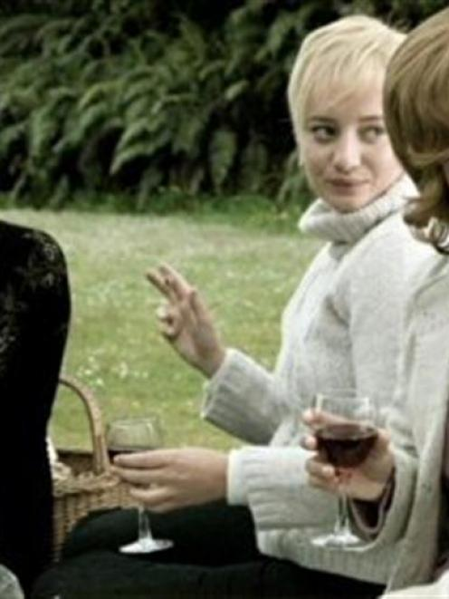Scene from 'Bride Flight'.