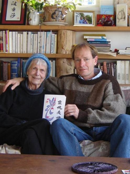 Sean Davison and his mother Pat Davison, who has since died. Photo supplied.