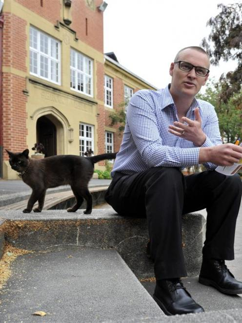 Selwyn College warden Rev Dr David Clark takes some time out of preparing for the new wave of...