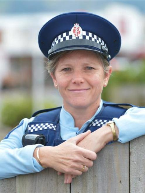 Senior Constable Karren Bye is the new Mosgiel community constable. Photo by Gerard O'Brien.