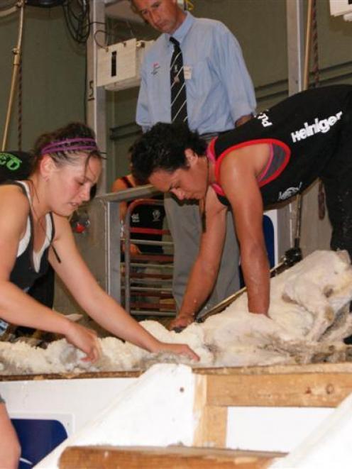 Senior shearing champion, Australia-based Te Atakura Crawford, originally of Te Karaka, works...