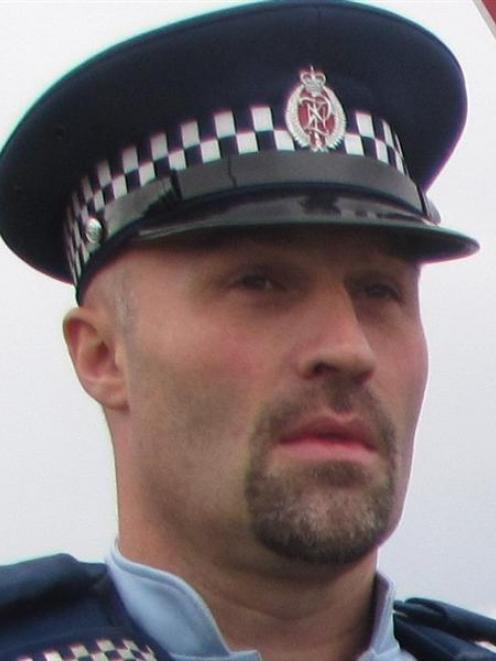 Sergeant Derek Ealson.