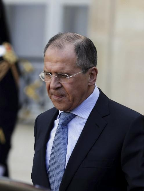 Sergei Lavrov. Photo by Reuters