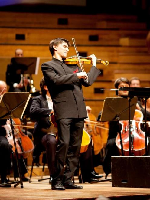 Russian wins violin competition | Otago Daily Times Online News