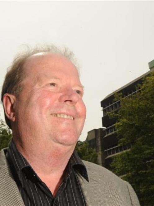Serious issue . . . Head of the University of Otago chemistry department Prof Keith Hunter...