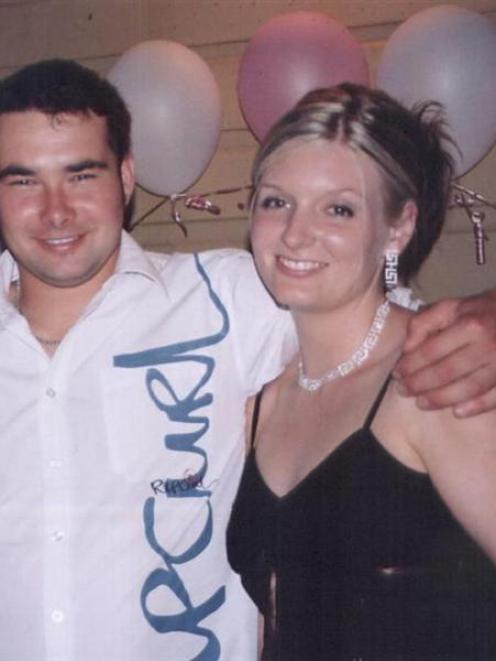 Shane O'Neill, 28, and his fiancé Stacey Lambert, 24. Photo from New South Wales police.