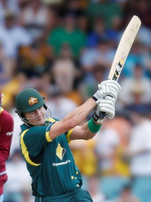 Shane Watson was a key player in Australia's whitewash of the West Indiea in their ODI series....