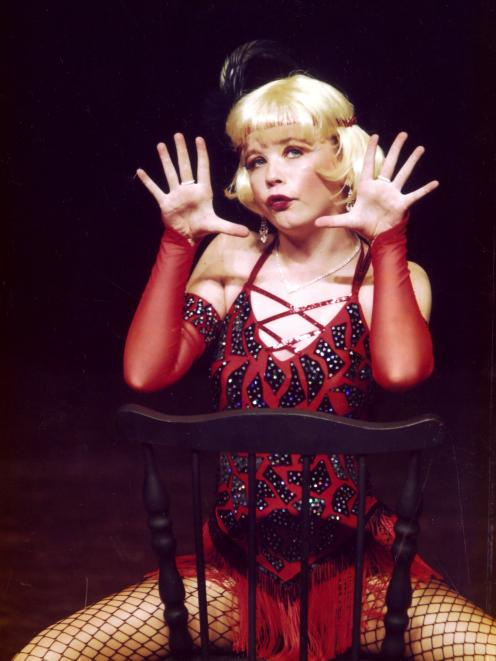 Shanna Breman-Trewern, of Dunedin, performs as Roxie in a routine from Chicago. Photo supplied.