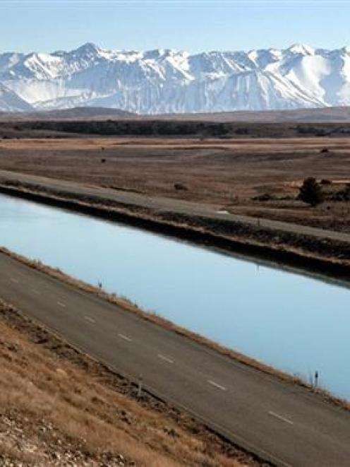Share allocations in Genesis Energy, the operator of the Tekapo canal, have been reduced because...