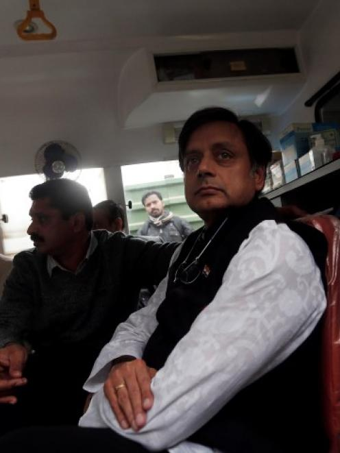Shashi Tharoor. Photo Reuters