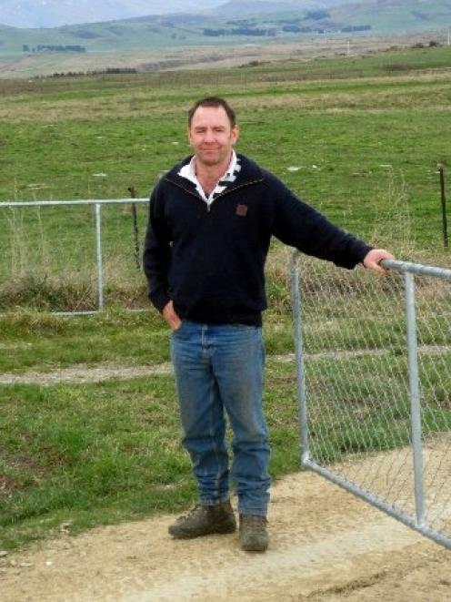 Sheep Industry Trainer of the Year Kevin Smith on the property he manages at Middlemarch. Photo...