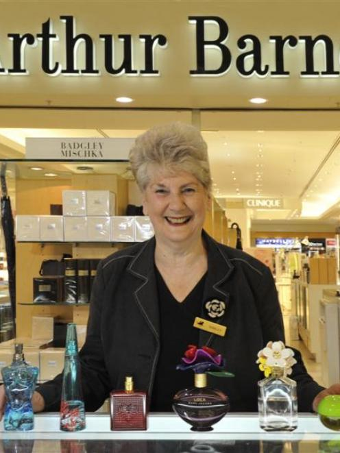 Shirley Barton is leaving her position at Arthur Barnett in Dunedin after 28 years of advising...