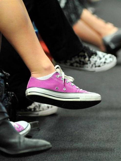 Shoes were the focus of a panel discussion about the history of footwear and its changing role in...