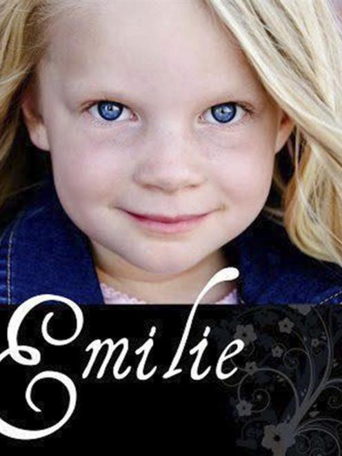 Shooting victim Emilie Parker is shown in this undated  photo provided by her family. REUTERS...
