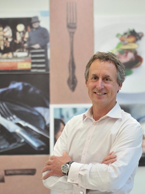 Silver Fern Farms' new chief executive Dean Hamilton in the company's headquarters in Dunedin....