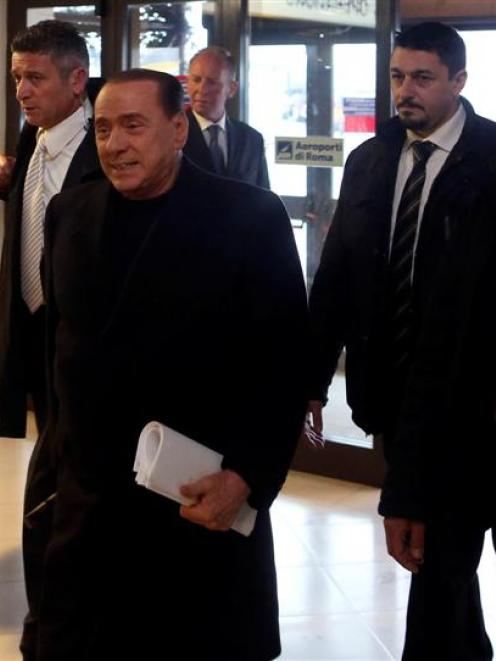Silvio Berlusconi was expelled from the Senate last November after being convicted for tax fraud....