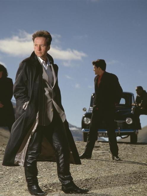 Simple Minds with Jim Kerr second from left. Photo supplied.