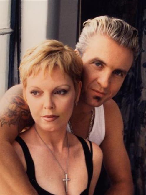 Singer Pat Benatar and guitarist Neil Giraldo who will perform in Gibbston in February. Photo...