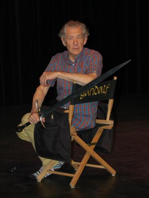 Sir Ian McKellen is touring his one-man show through New Zealand and will perform at the Lake...