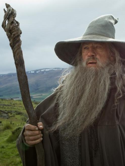 Sir Ian McKellen stars as Gandalf in the 'Hobbit' movies. Photo MCT