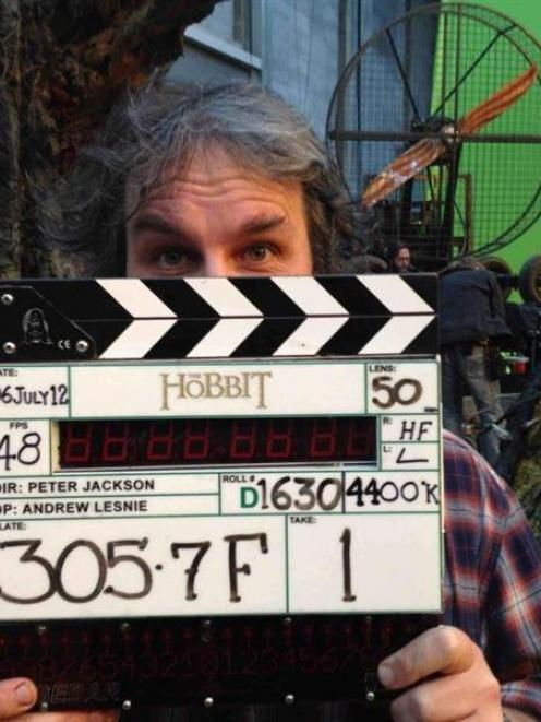 Sir Peter Jackson marks the end of principal photography on Friday of the eagerly awaited The...