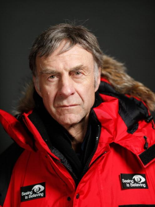 Sir Ranulph Fiennes. (Photo by Tom Shaw/Getty Images)