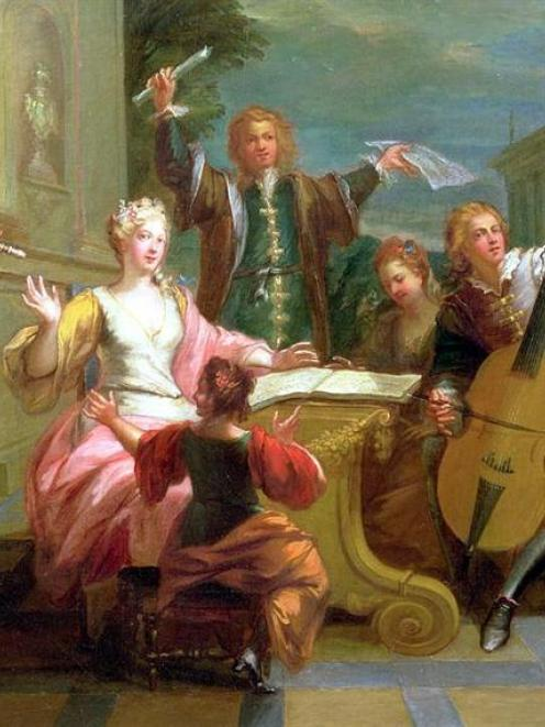 So did the musIcians in The Concert or Soiree, by 18th-century French painter Etienne Jeaurat.