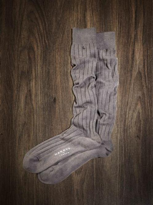 Socks made with New Zealand red deer fibre are selling in London for the equivalent of just over ...