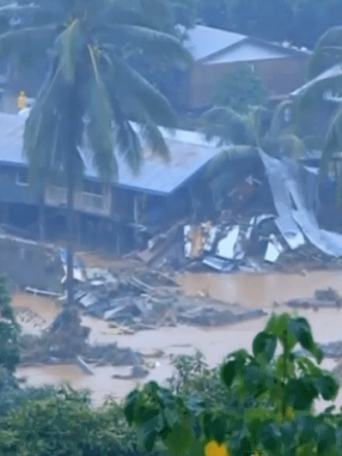 The flooding has left about 10,000 people homeless in Honiara alone.