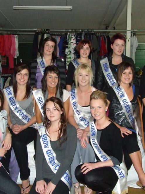 South Otago A & P show princesses. Photo by Rachel Taylor.