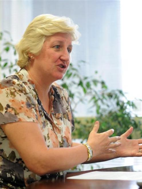 Southern District Health Board chief executive Carole Heatly.