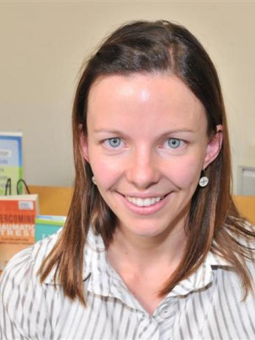 Southern Primary Health Organisation health promotion and projects co-ordinator Katie Jahnke. ...
