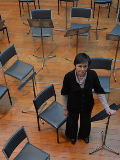 Southern Sinfonia general manager Philippa Harris fears musicians will leave Dunedin if the...