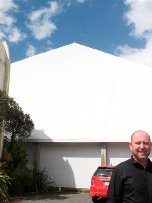 Southland Museum and Art Gallery Trust Board chairman Darren Ludlow in the car park where the...