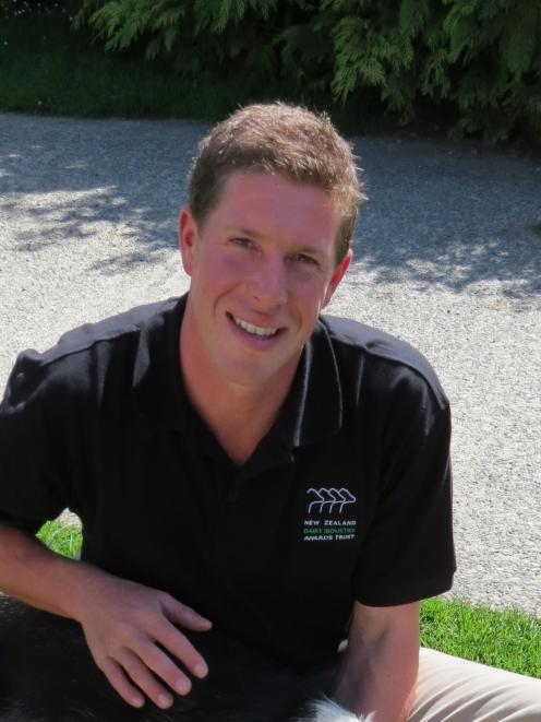 Southland Otago Dairy Trainee of the Year John Lavender, of Lochiel,  is looking forward to the...