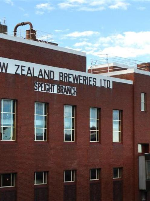 Speight's Brewery in Dunedin.