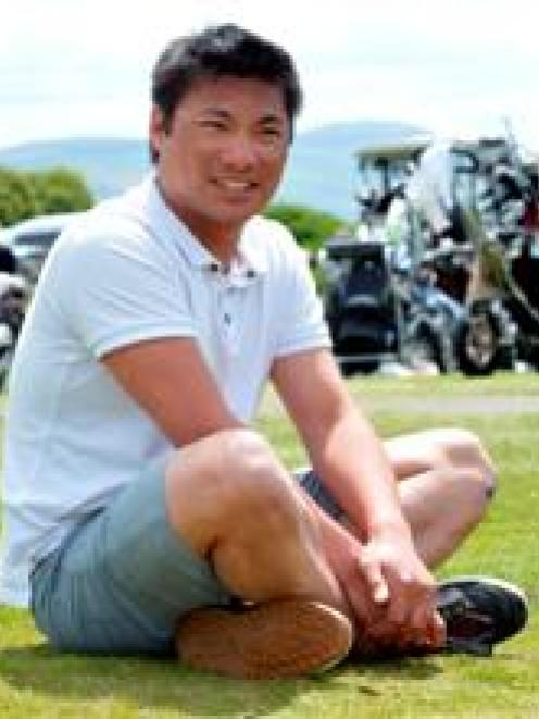 St Clair golf shop assistant Phillip Bungard is keen to return to competition golf. Photo by...