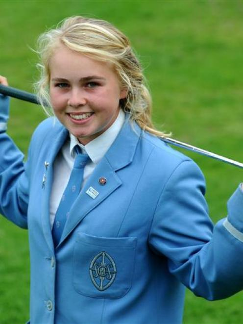 St Hilda's Collegiate pupil Laura Hoskin has been named in the New Zealand under-19 team. Photo...