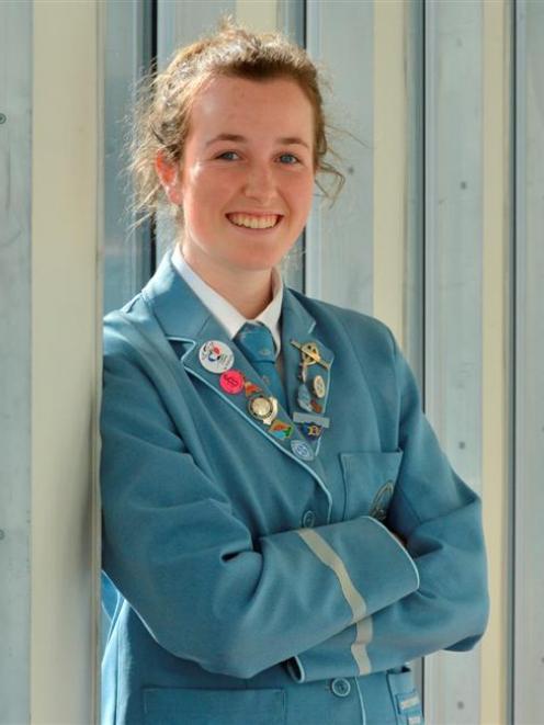 St Hilda's Collegiate School head girl Harriet Keown (16), who has been selected to represent New...